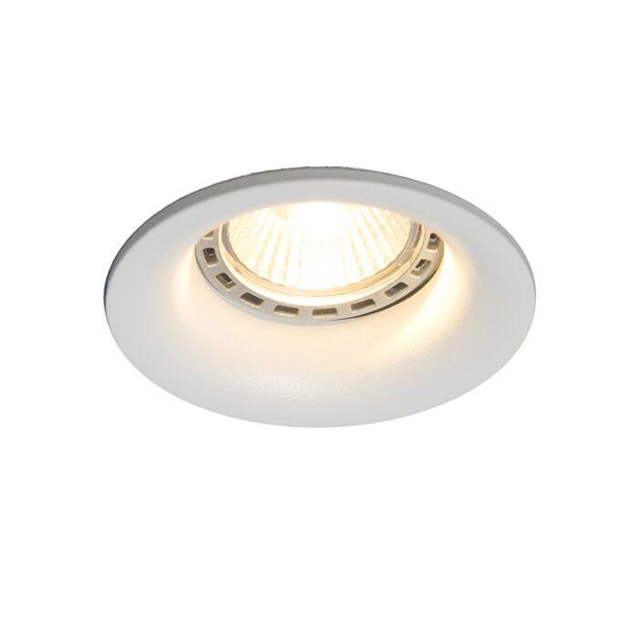 Spotlight/downlight-'Torno-2'-Moderna-vit/aluminium---Passande-för-LED-/-Inomhus