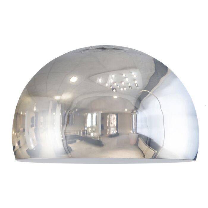 Lampskärm-'Globe-33'-Moderna-krom--