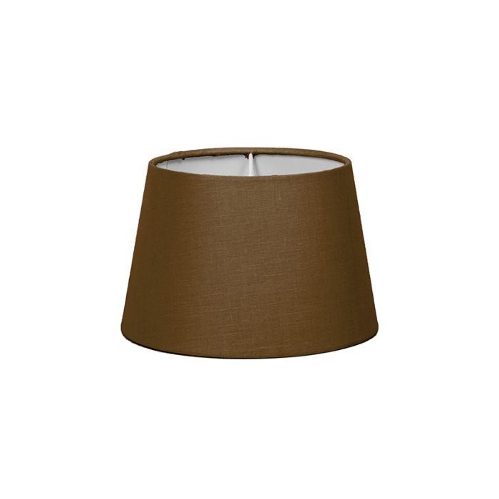 Lampskärm-'18cm-R-SD-E27'-Nej-brun/tyg-Passande-för-LED
