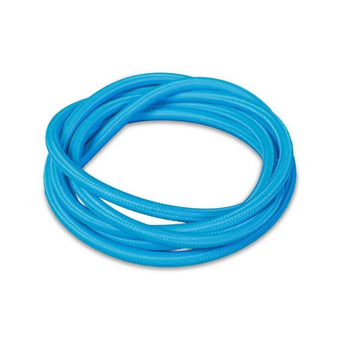 Kabel-'1m'-Nej-blå/tyg