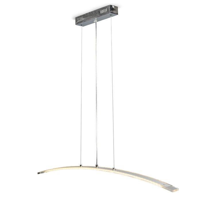 Minimalistisk-taklampa-'Arcade'-Moderna-stål---LED-inkluderat-/-Inomhus