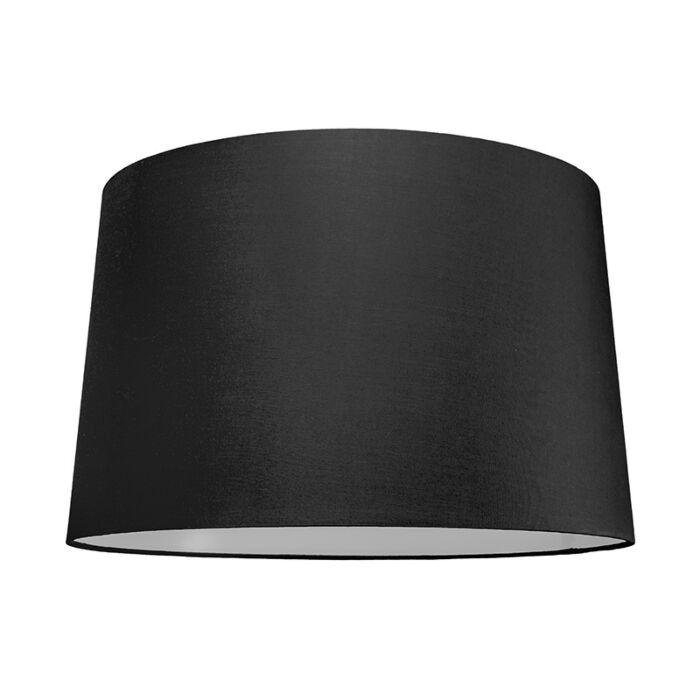 Lampskärm-'50cm-R-SU-E27'-Nej-svart/tyg-Passande-för-LED
