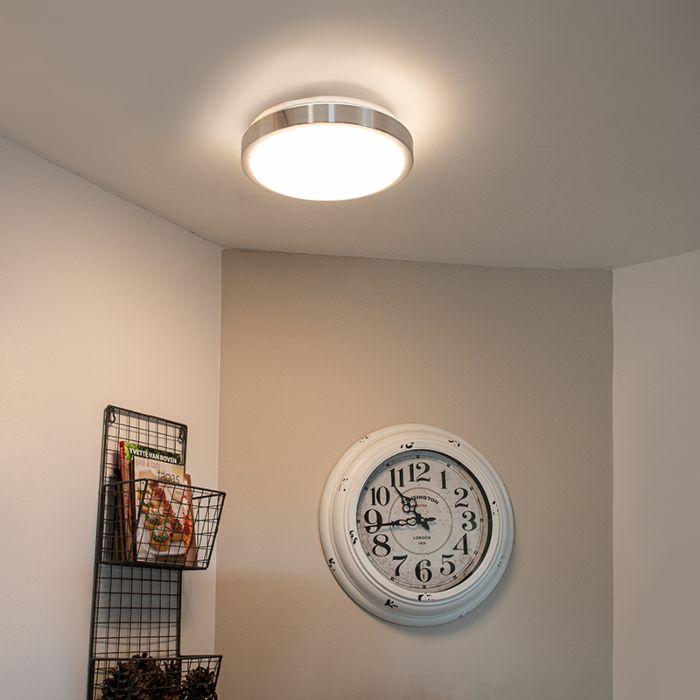 Modern-taklampa-i-aluminium-31-cm-inkl.-LED-12W---Avant