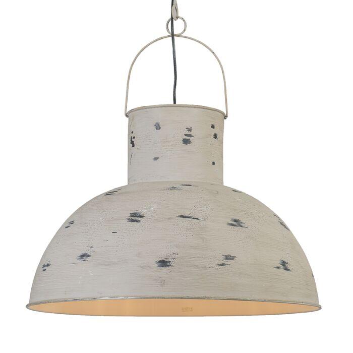 Taklampa-'Rust'-Industriell-grå/metall---Passande-för-LED-/-Inomhus