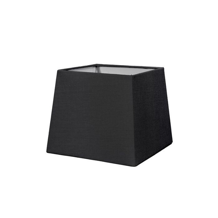 Lampskärm-'18cm-Q-SD-E27'-Nej-svart/tyg-Passande-för-LED