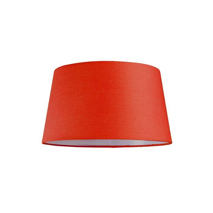 Lampskärm-'30cm-R-SU-E27'-Nej-röd/tyg-Passande-för-LED