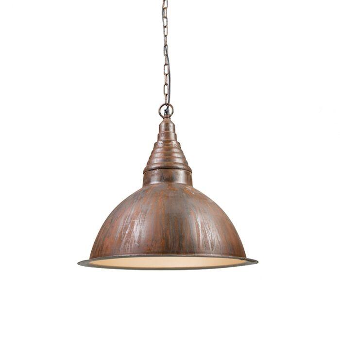 Industriell-hängande-lamprost---Fabrik