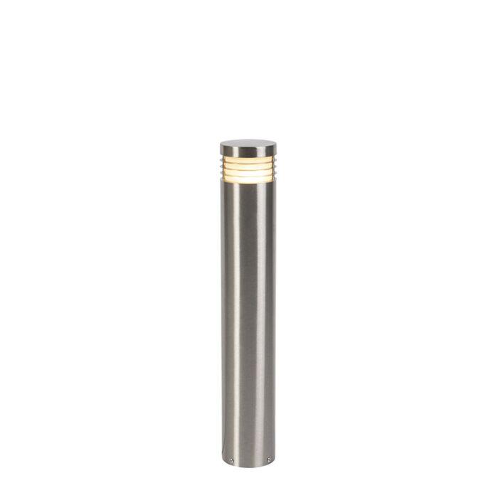 Modern-stående-utomhuslampa-stål-60-cm-IP44---Dok