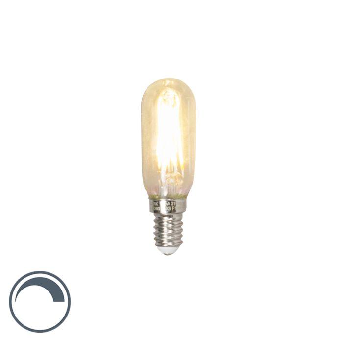 LED-glödlampa-rör-E14-240V-3.5W-310lm-T24-dimbar