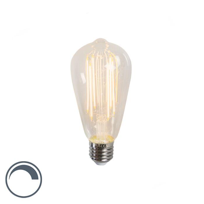 LED-glödlampa-lång-rustik-lampa-ST64-E27-240V-4W-350LM-2300K