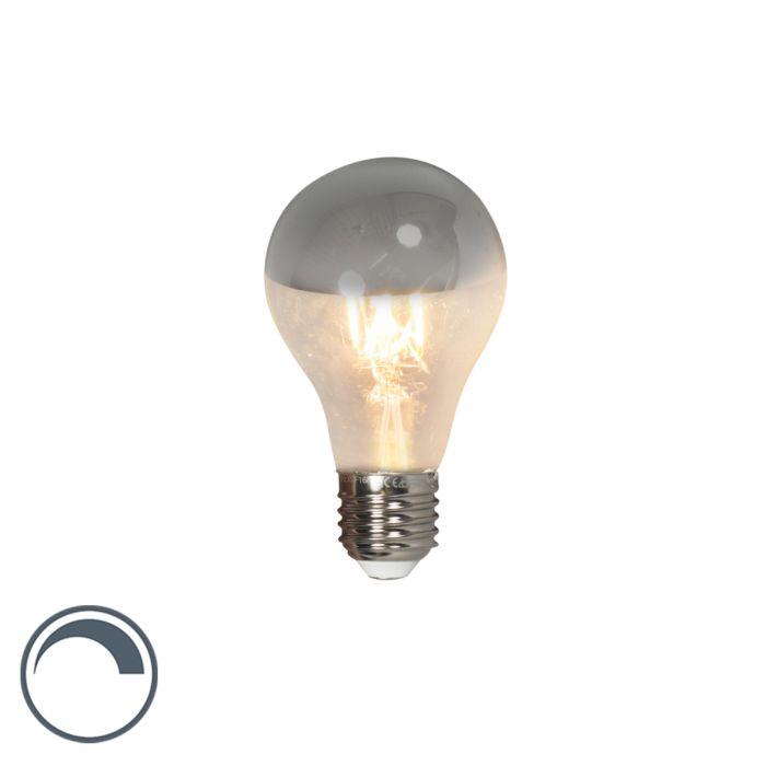 E27-dimbar-LED-glödlampa-A60-främre-spegel-4W-300lm-2300-K