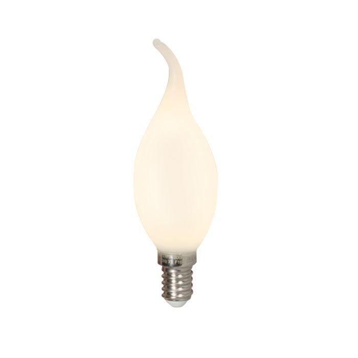 Kronljuslampa-E14-LED-3.5-Watt-300-Lumen-Varmvitt-Dimbar