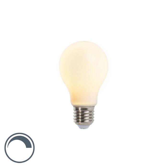 LED-lampa-E27-5W-410lm-A60-dimbar-matt