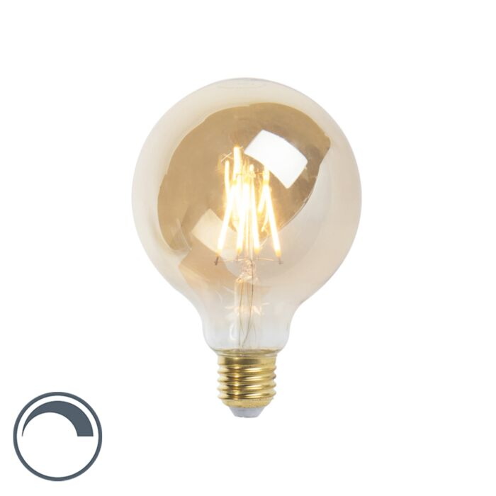 LED-E27-dimbar-glödlampa-G95-goldline-360lm-2200K