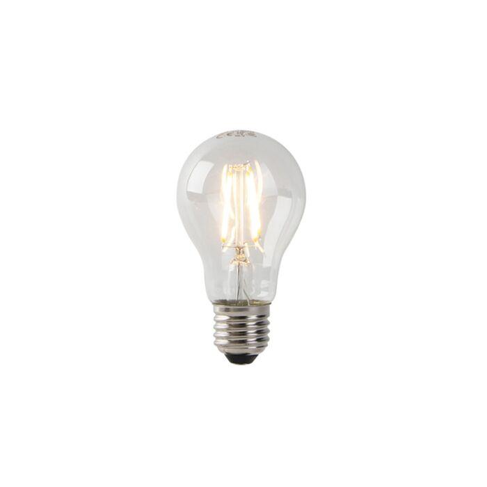 LED-lampa-A60-E27-3W-2200K-klar-glödtråd