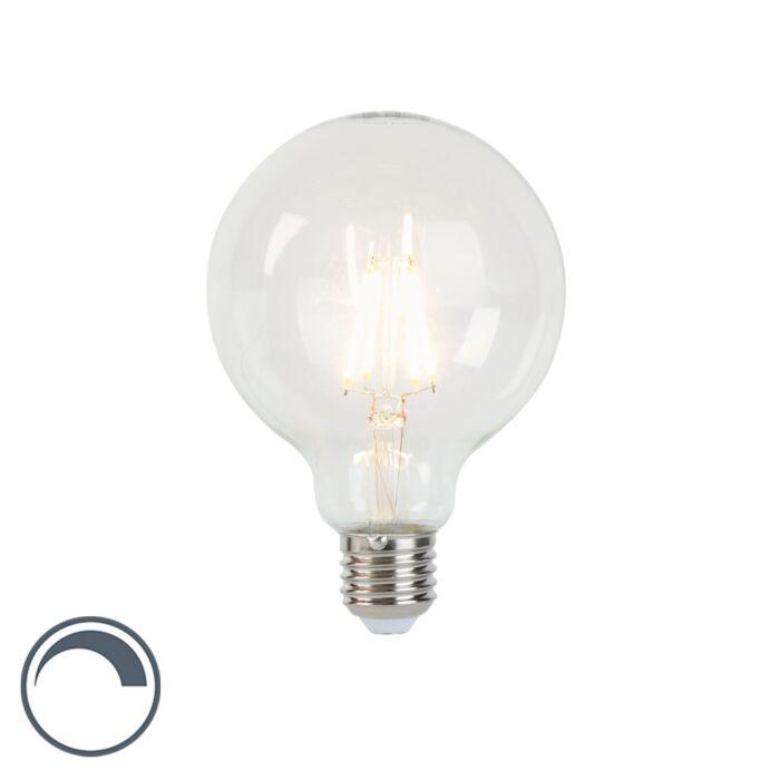 E27-dimbar-LED-glödlampa-G95-5W-450lm-2700K