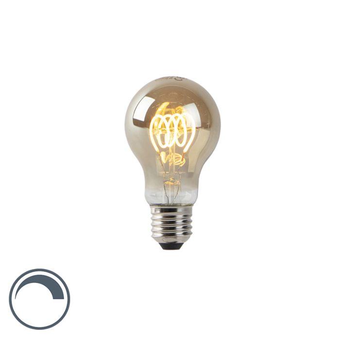 E27-dimbar-LED-spiraltrådslampa-rökglas-160-lm-2200K