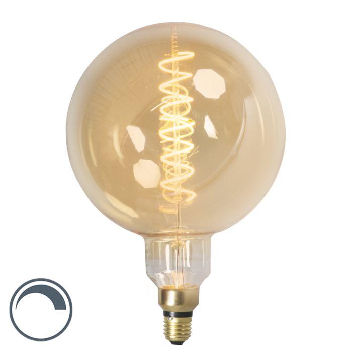 E27-dimbar-LED-glödlampa-MEGA-jordklot-4W-200lm-2100-K