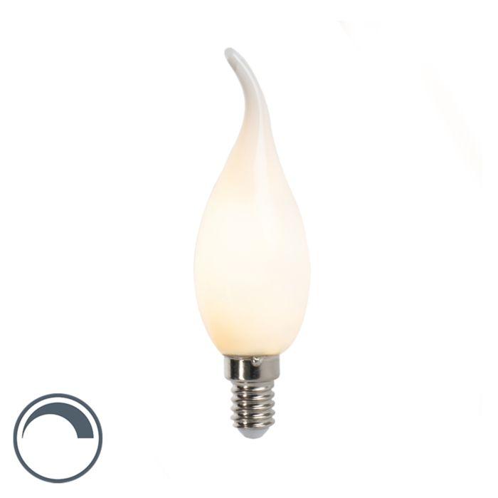 LED-glödlampa-spetslampa-E14-3W-250lm-F35-dimbar-matt