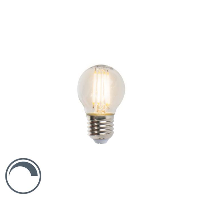 LED-glödlampa-E27-5W-470lm-P45-dimbar