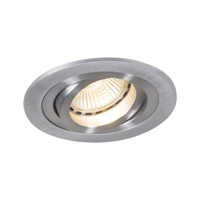 Spotlight/downlight-'Rondoo-1'-Moderna-aluminium---Passande-för-LED-/-Inomhus
