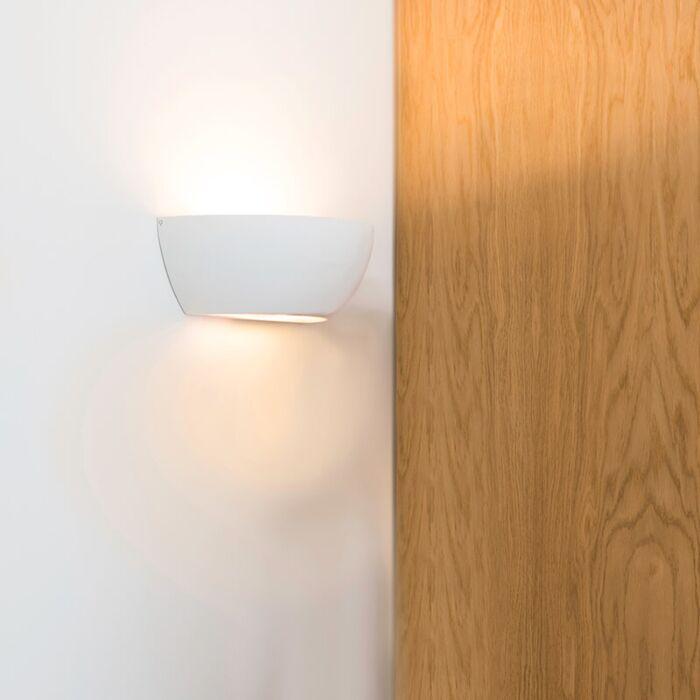 Vägglampa-vit---Gipsy-Chatou