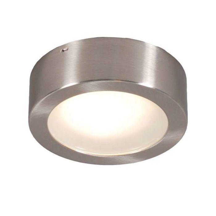 Plafond-och-vägglampa-'Thema-13-R'-Moderna-stål---Passande-för-LED-/-Inomhus