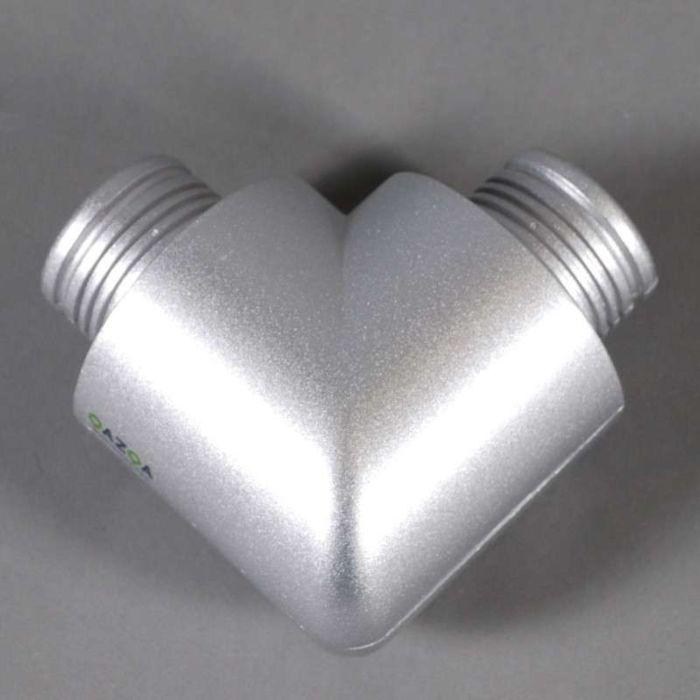 Nej-'90'-Moderna-grå/aluminium