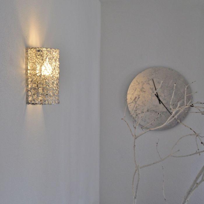 Vägglampa-'Draht'-Moderna-aluminium---Passande-för-LED-/-Inomhus