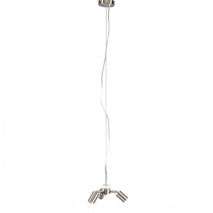 Taklampa-'Combi-1-3'-Moderna-stål---Passande-för-LED-/-Inomhus