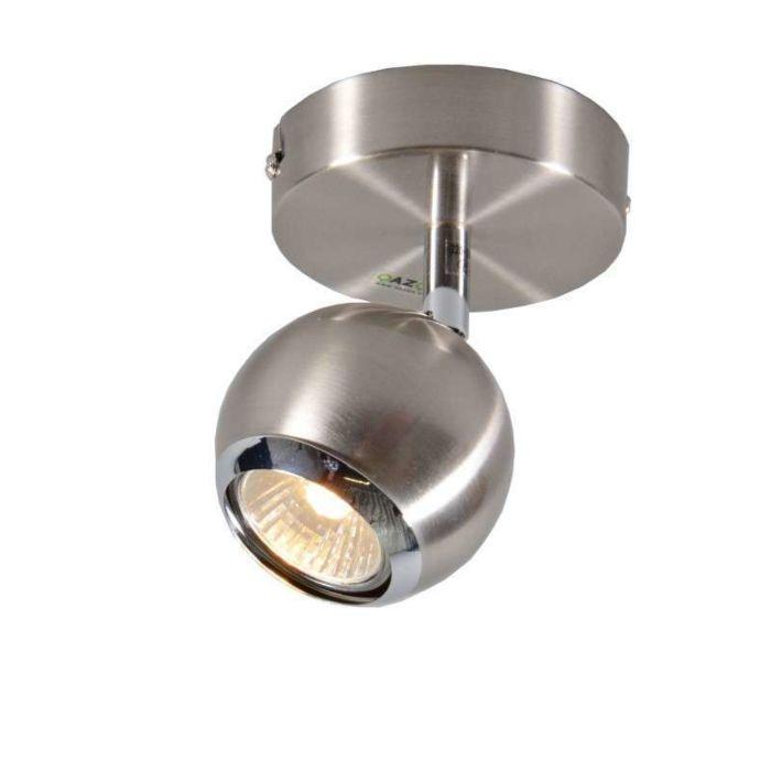 Vägg-och-plafond-strålkastare-'Buell-1'-Moderna-stål---Passande-för-LED-/-Inomhus