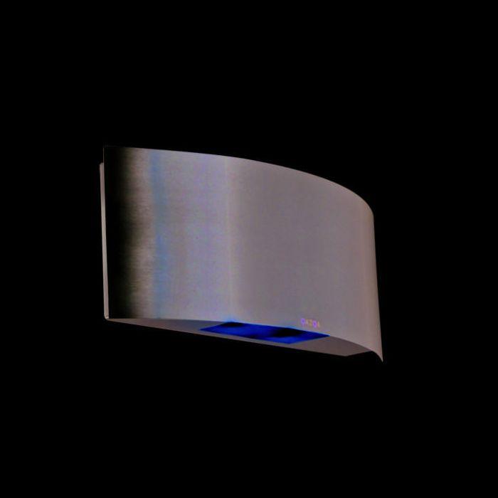 Vägglampa-Rostfritt-stål-LED---Glis