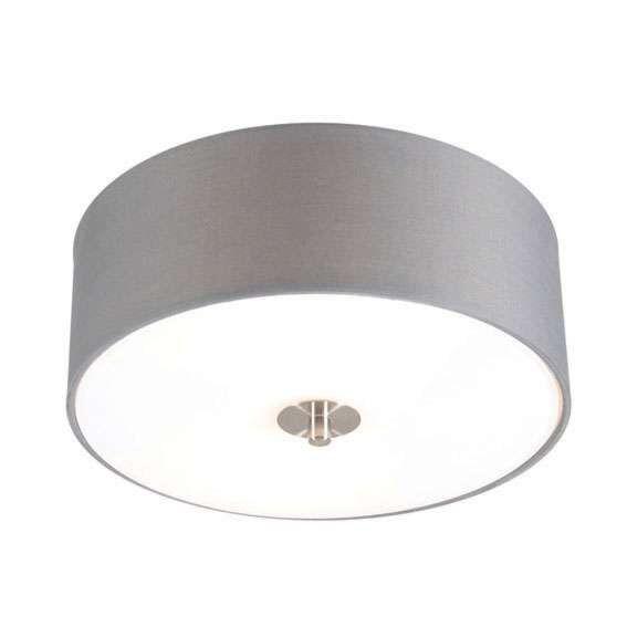 Lands-taklampa-grå-30-cm---Trumma