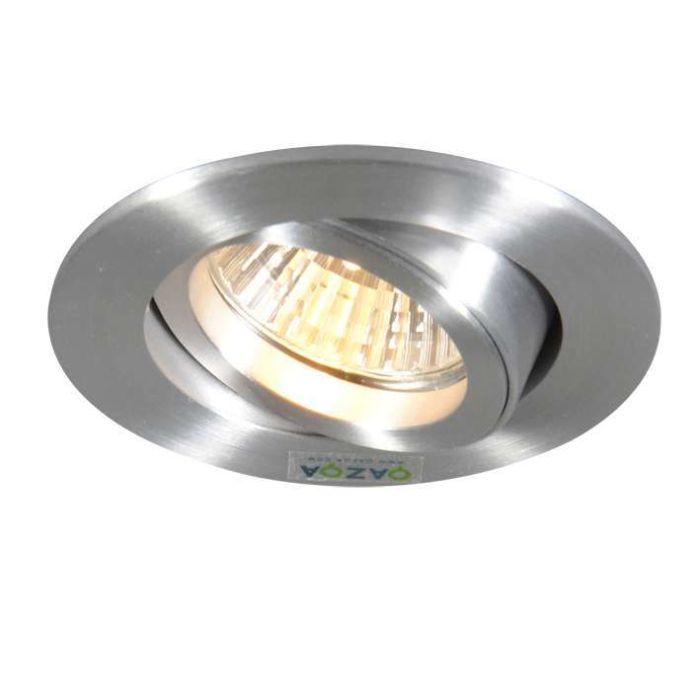 Spotlight/downlight-'Note'-Moderna-aluminium---Passande-för-LED-/-Inomhus