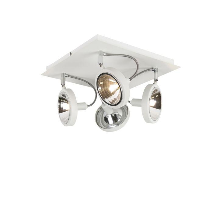 Designfläckvit-4-ljusjusterbar---Nox