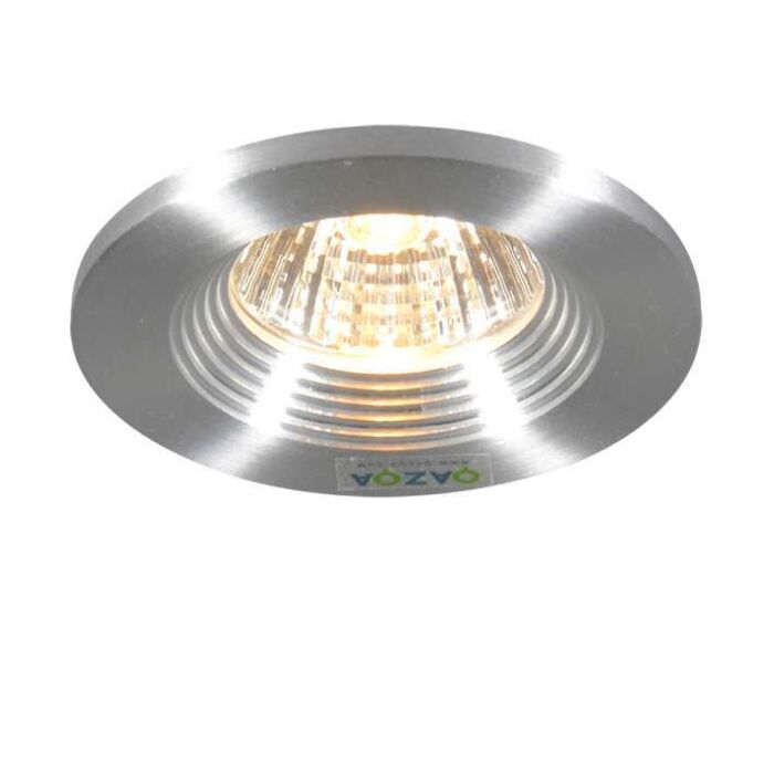 Spotlight/downlight-'Pen-Fixed'-Moderna-aluminium---Passande-för-LED-/-Inomhus