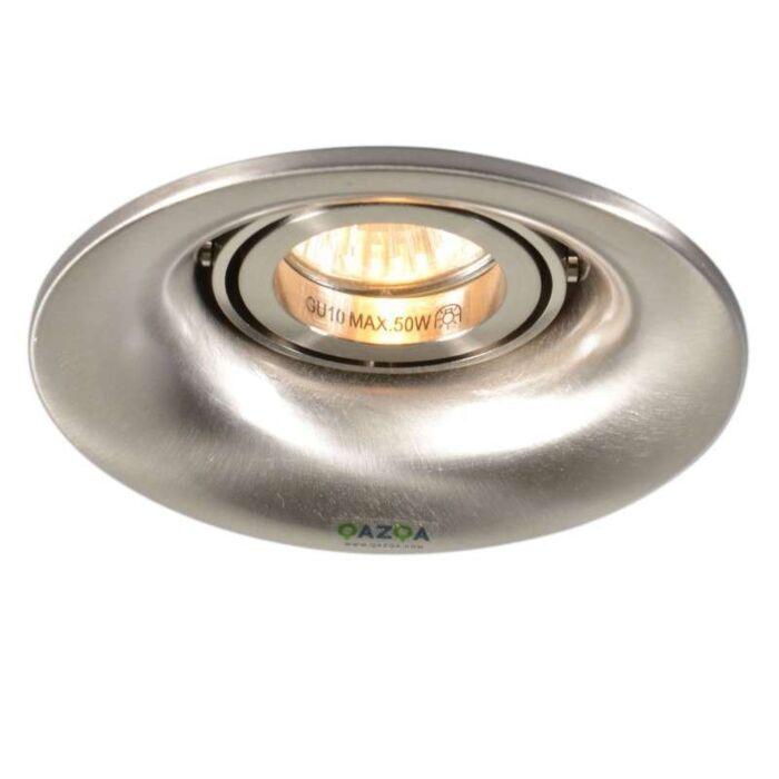 Spotlight/downlight-'Punch'-Moderna-stål---Passande-för-LED-/-Inomhus