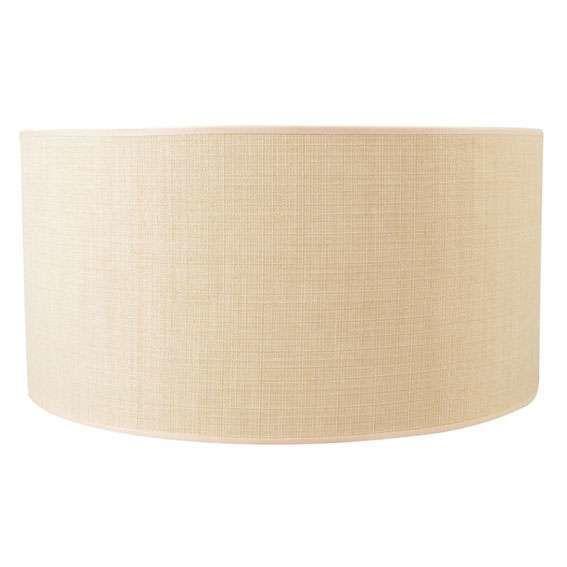 Lampskärm-'50/50/25'-Moderna-beige/tyg