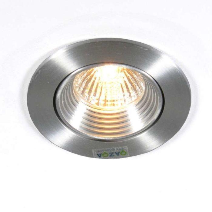 Spotlight/downlight-'Pen'-Moderna-aluminium---Passande-för-LED-/-Inomhus