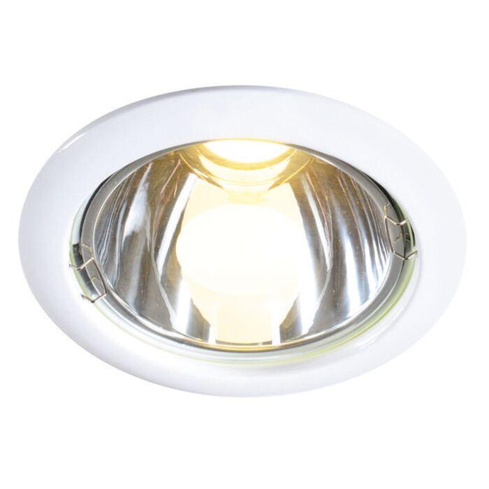 Spotlight/downlight-'New-Lumiled-10W'-Moderna-vit/metall---LED-inkluderat-/-Inomhus