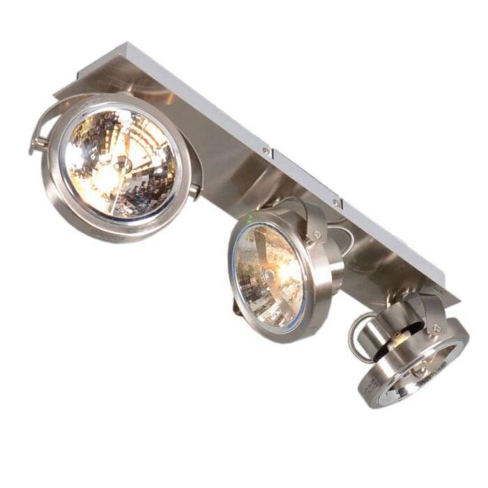 Plafond-strålkastare-'Go-3'-Moderna-stål---Inomhus