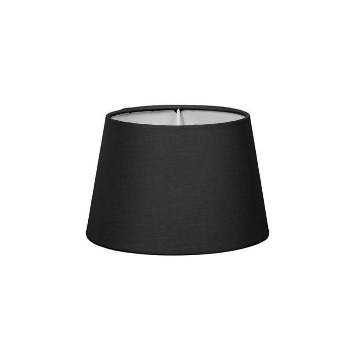 Lampskärm-'18cm-R-SD-E27'-Nej-svart/tyg-Passande-för-LED
