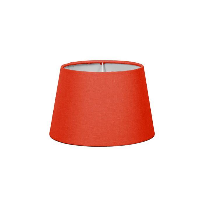 Lampskärm-'18cm-R-SD-E27'-Nej-röd/tyg-Passande-för-LED