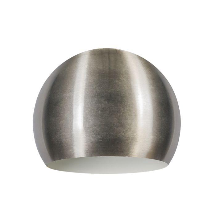 Lampskärm-'Globe-28cm'-Retro-stål--