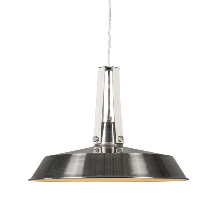 Taklampa-'Living-40'-Moderna-stål---Passande-för-LED-/-Inomhus