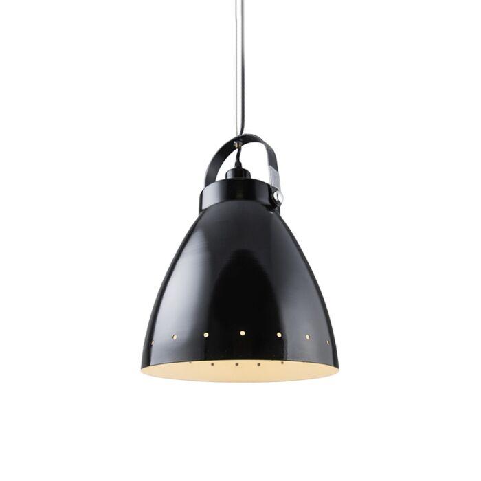 Skandinavisk-hängande-lampa-svart-tiltbar---Rytel