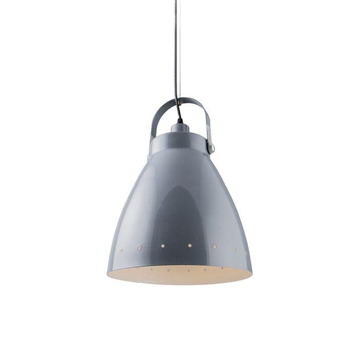 Taklampa-'Rytel'-Retro-grå/metall---Passande-för-LED-/-Inomhus