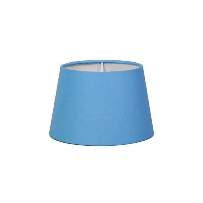 Lampskärm-'18/12/14-R-SD-E27'-Nej-blå/tyg-Passande-för-LED