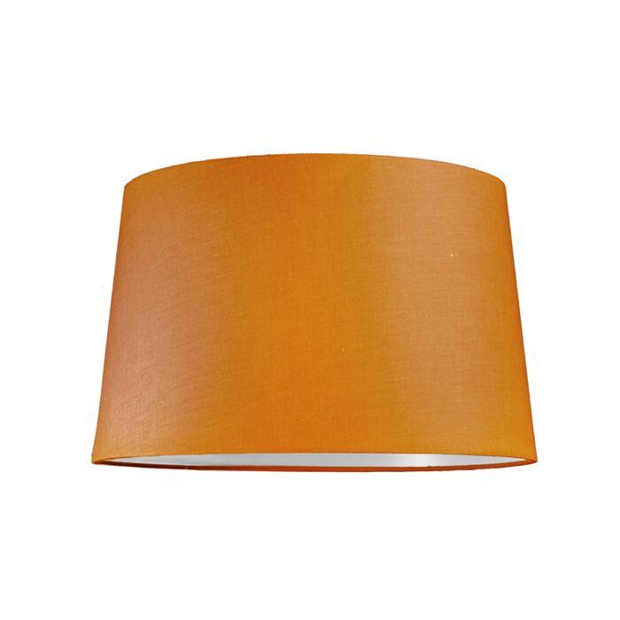 Lampskärm-'40cm-R-SU-E27'-Nej-orange/tyg-Passande-för-LED