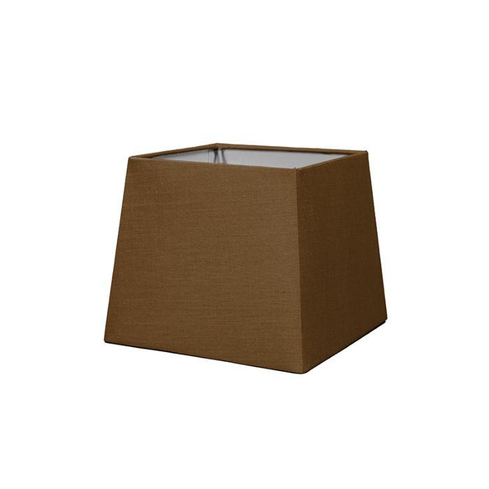 Lampskärm-'18cm-Q-SD-E27'-Nej-brun/tyg-Passande-för-LED